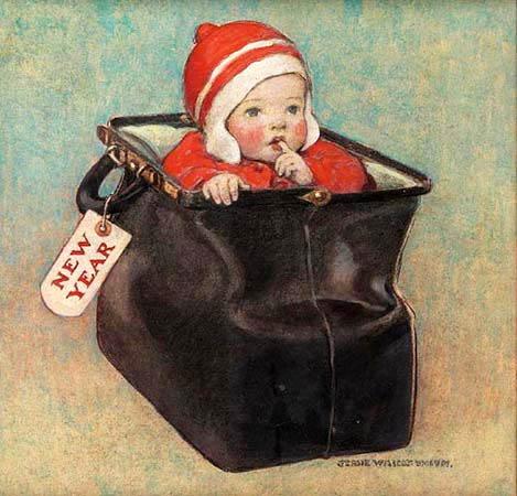 jessie-willcox-smith-new-years-baby