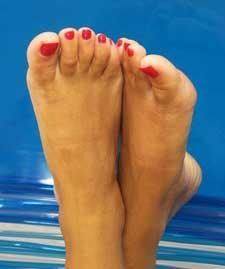 painted-toenails