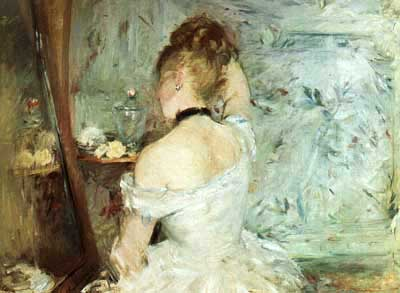 a-woman-at-her-toilette-by-berthe-morisot
