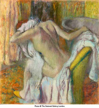 after-the-bath-woman-drying-herself-by-edward-degas