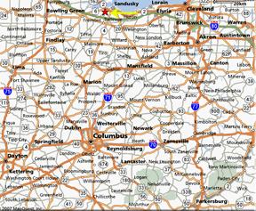 map-of-ohio