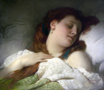 woman-sleeping-by-sandor-liezen-mayer-1867
