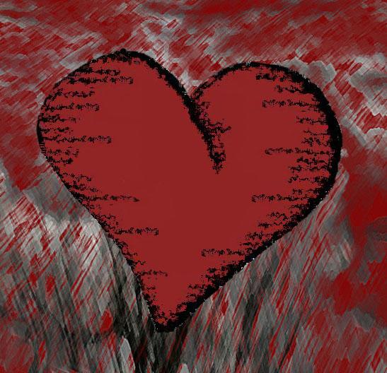 Deark Heart by L Liwag
