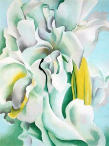 Georgia OKeeffe White Sweet Peas 1926