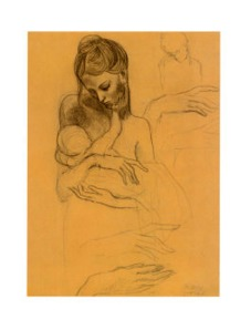 pablo-picasso-mother-and-child