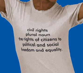 Civil Rights tshirt