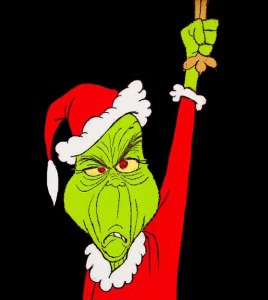 grinch black background