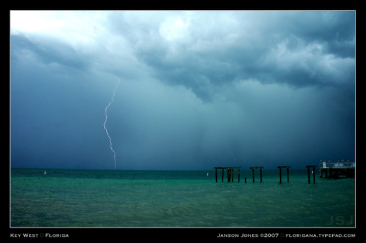Key West lightning by Janson Jones