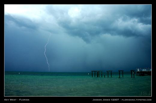 Key West lightning by Janson Jones