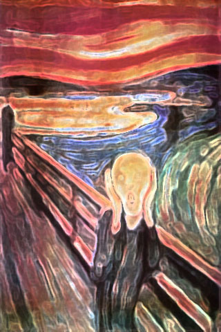 Take On Edvard Munch's Scream
