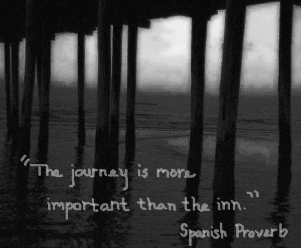 The journey is more important than the inn