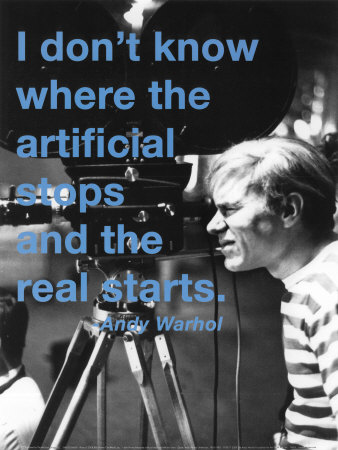 Andy Warhol Artificial by Billy Name