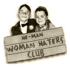 he man woman haters club b&w