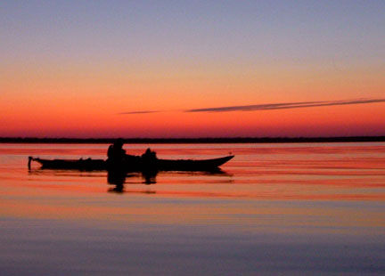 Kayaking at First Landing State Park by Karen Roberts