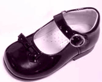 Black Patent Leather Mary Janes