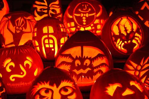Boylan Heights NC community pumpkins
