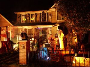 House Decorated for Halloween Ehow