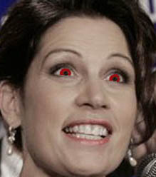 Michele Bachmann close up