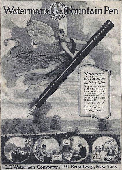 Waterman Fairy Ad