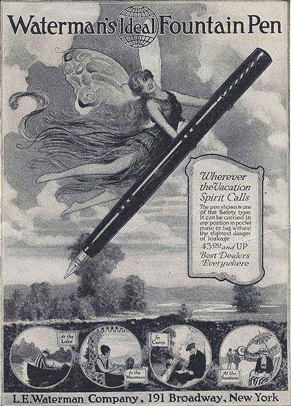 Waterman Fairy Ad