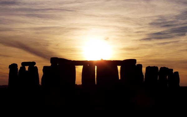 Stonehenge November Sunset