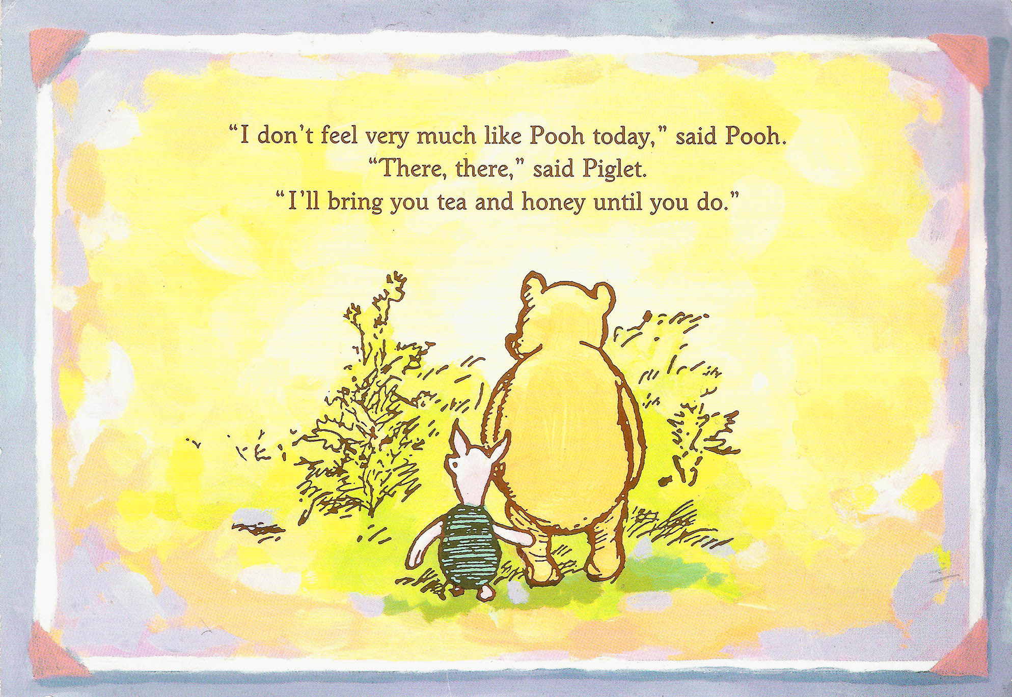 Quotes About Tea And Friendship Friendship Quotes Pooh And Piglet Pooh And Piglet On Tumblr.