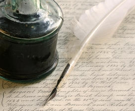 Quill and Inkpot