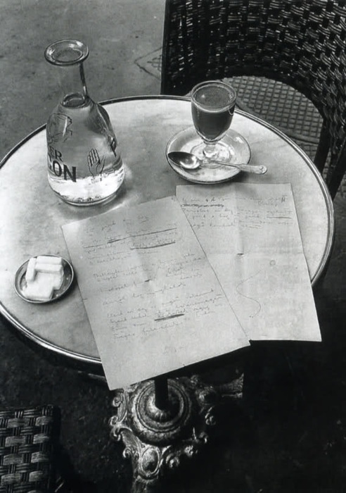 paris at night poem. André Kertész The Way a Poem