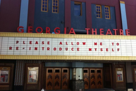 Athens GA marquee