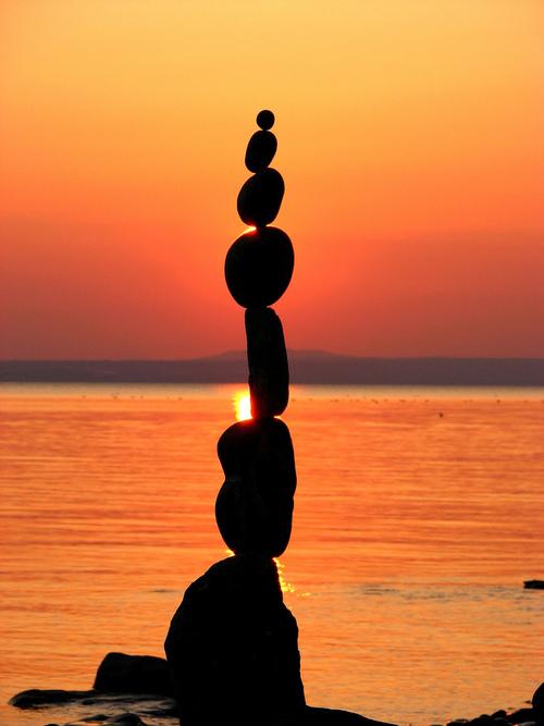 Perfect Balance Rock Sculptureby Bill Dan