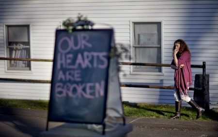 Sandy Hook Elementary School Schooting David Goldman AP