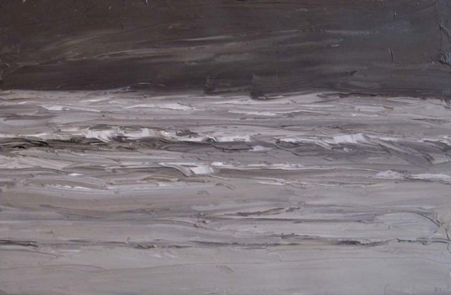 """Sea Mist"" (nd, oil on canvas)by Sir Kyffin Williams"