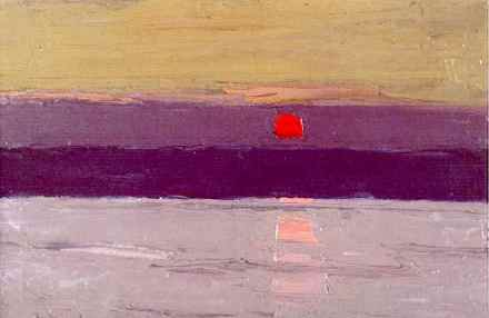 Sir Kyffin Williams Sunset, Penmon nd