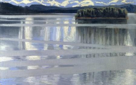 Akseli Gallen-Kallela, Lake Keitele 1905 oil on canvas