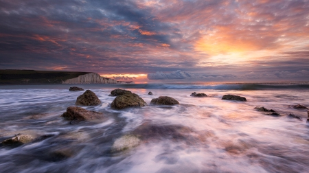 Cuckmere Bay, Seven Sisters, UKby Tobias Richter