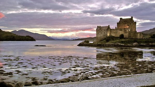 Eilean Donan Castle at Sunsetby Paul Stevenson (FCC)