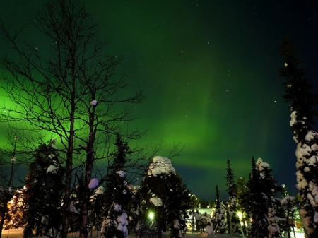 Northern Lights over Finland by timo_w2s CC