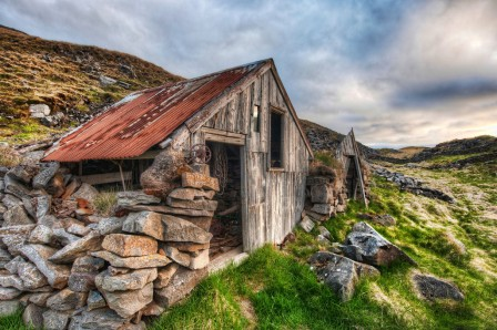 Old Shed in Iceland-XL by Trey Ratcliff Stuck in Customs