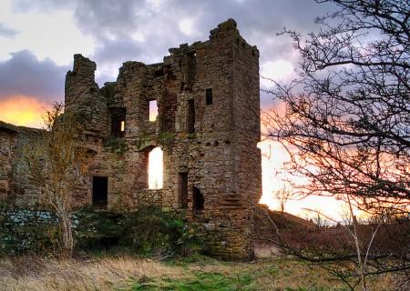 Saltcoats Castle, Lothian, Scotland by DecoByDesign FCC