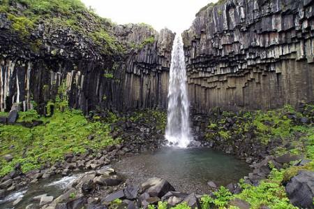 Svartifoss Cascade, Iceland by Victor Montol CC