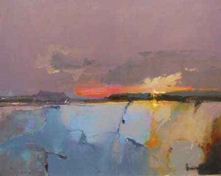 Peter Wileman Dawn over the Estuary 24 x 30 oil on canvas main