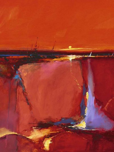 Peter Wileman Red Horizon