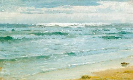 PS Kroyer Sea at Skagen 1882 oil on canvas