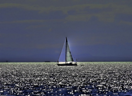 Sailing Across the Blue Ocean by eyesplash mikul FCC