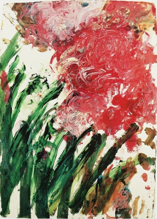 Cy Twombly Untitled 1990 acrylic