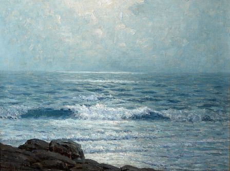 Granville Redmond Morning on the Pacific 1911 oil on canvas