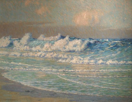 Granville Redmond Opalescent Sea 1918 oil on canvas