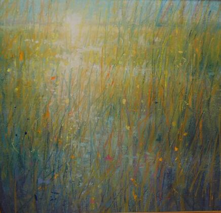 Norman Smith, Marsh Sunrise, Pastel on Paper