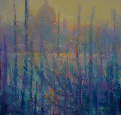Norman Smith, Venice Impression pastel on paper