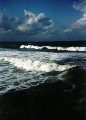 Stormy ocean 03 San Diego by  by Melissa Schranz cc